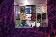 My Swarovski Crystal bin... I'm always refilling this one.