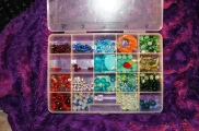 Random leftover beads...