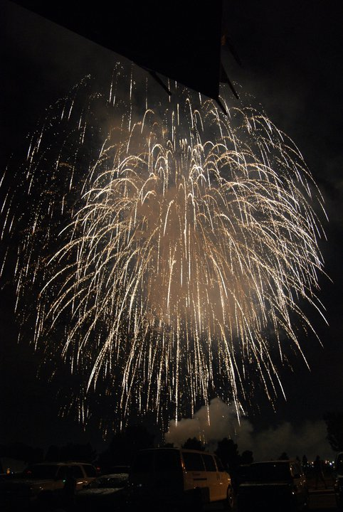 Fireworks AFB 2012